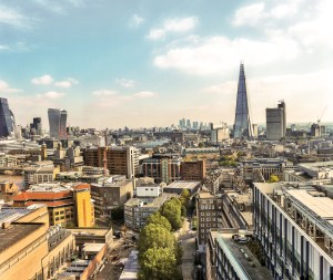 12_city-view-of-London,-England-with-the-Shard,-Walkie-Talkie-building,-Gherkin-and-Cheesegrater