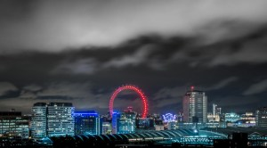 amazing-view-of-the-London-Eye-in-London