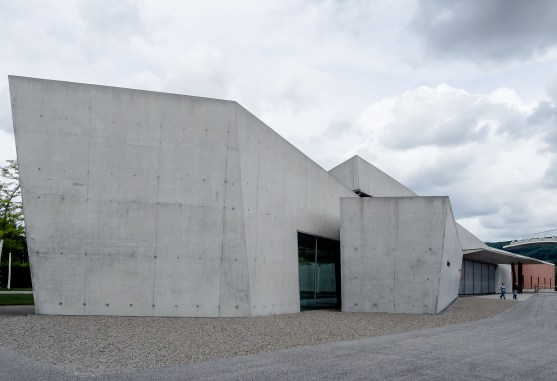 Vitra fire station Basel designed by Zaha Hadid_Nancy Da Campo architecture photography