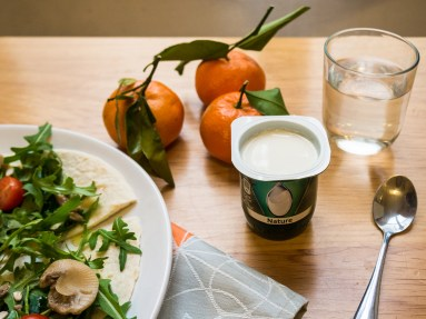 Activia is looking for beautiful food photography that showcases the healthiness of its yogurt, and its incorporation into a healthy lunch/dinner.
