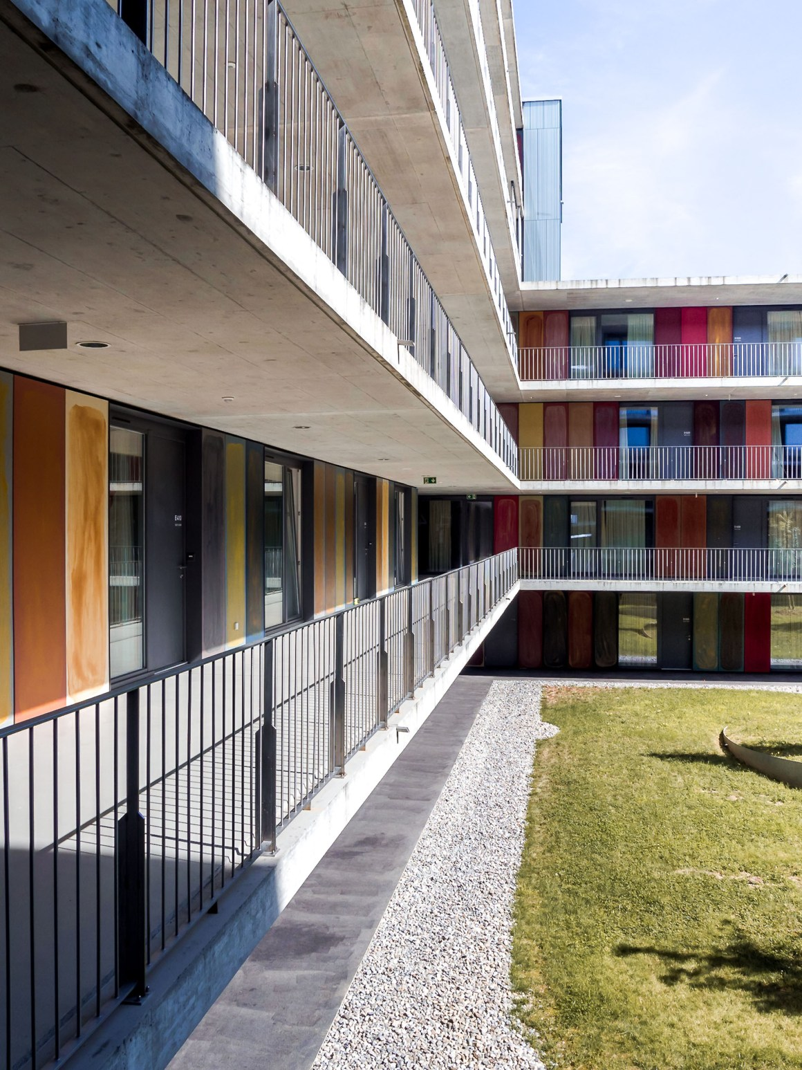 STUDENT HOUSING |RICHTER DAHL ROCHA Lausanne-Switzerland-architecture-city-guide
