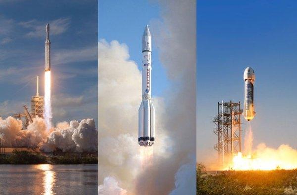 Build & launch: SpaceX, Blue Origin, ILS, Boeing & SSL ...