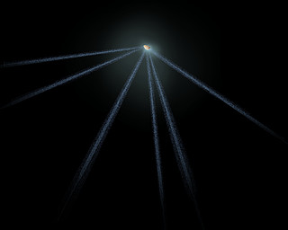 Schematic of active asteroid P/2013 P5