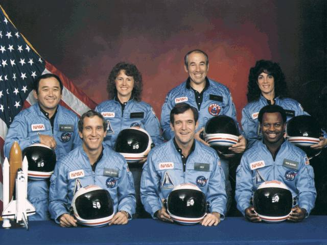 Astronauts of Space Shuttle Challenger