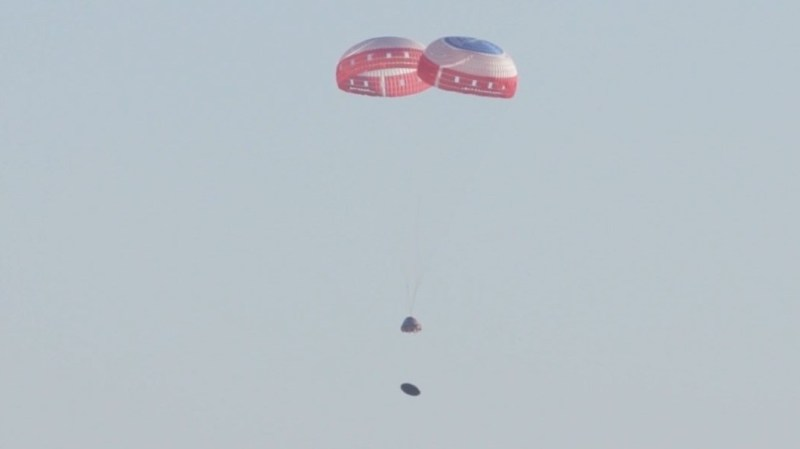Missing Pin Caused Deploy Failure of 3rd Parachute During Boeing Starliner Pad Abort Test