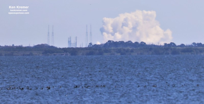 Falcon 9 Static Fire Test puts SpaceX on Course for NASA Cargo Launch to ISS with Final Original Dragon