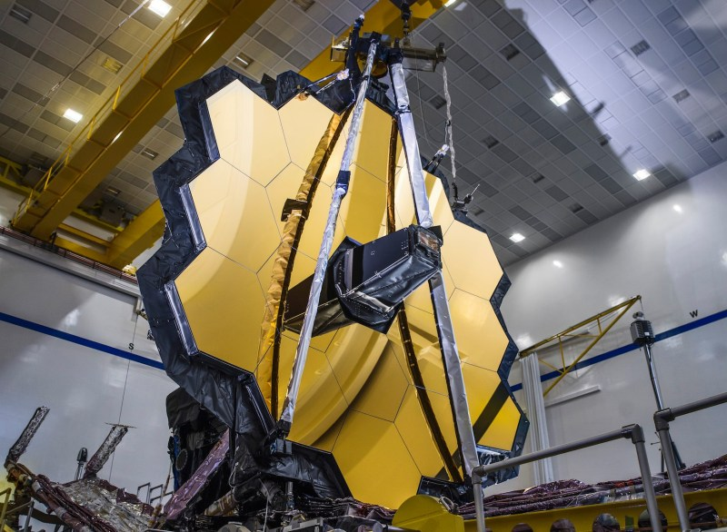 NASA's James Webb Space Telescope Mirrors Passes Full Deployment Test: Video