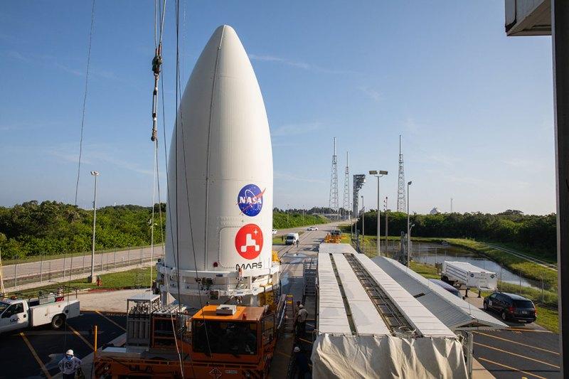 NASA's Perseverance Rover Joined to ULA Atlas V Rocket