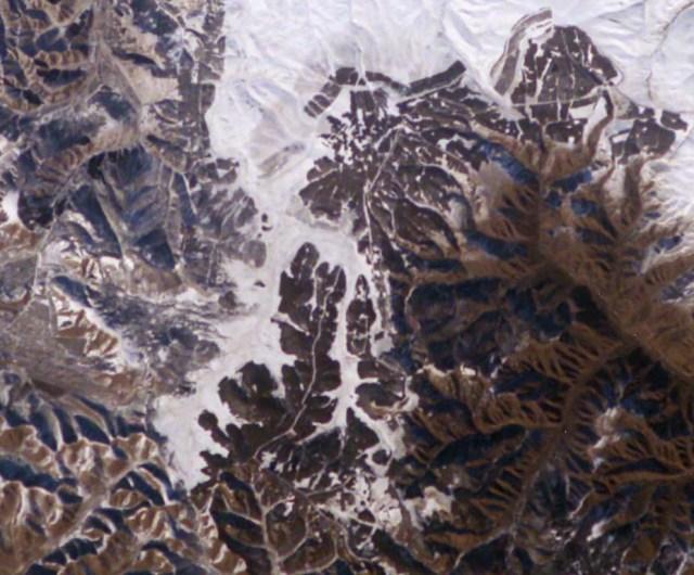 muralha da china vista do espaço