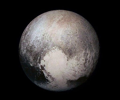 Pluto {image source: spaceweather.com}