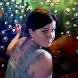 Artist Chelsea O'Sullivan paints an octopus portrait. Photo courtesy of the artist.