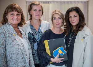 Spädbarnsfonden träffar Annika Strandhäll(S)