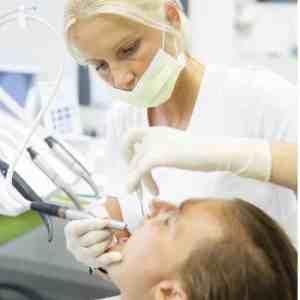Ledbury dentist with a patient