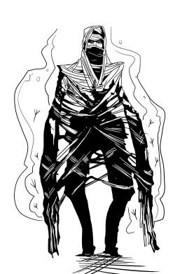 The Alien - character design