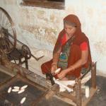インド綿のインテリア