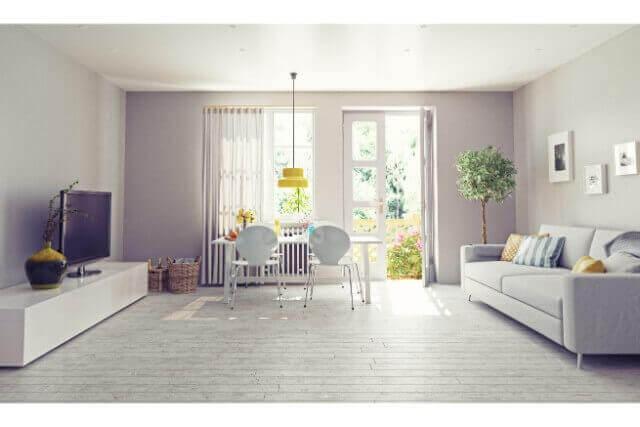 くつろげるリビングの家具配置