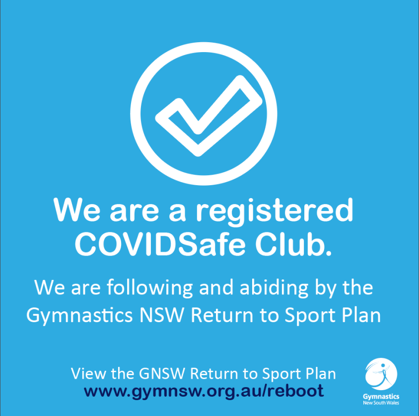 We are a registered COVIDSafe Club