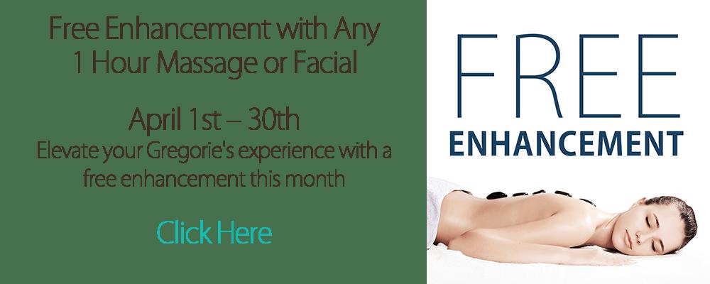 free enhancement offer