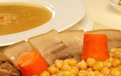 スペイン料理 冬のポピュラーな家庭料理コシードのレシピ
