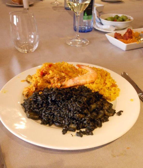 スペイン料理の代表選手-パエーリャ。パエーリャにもおいしいソフリートが欠かせません。