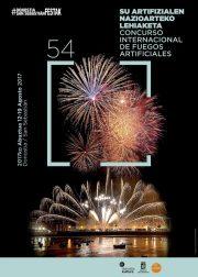 サン・セバスチャン国際打ち上げ花火コンクール 開催ポスター