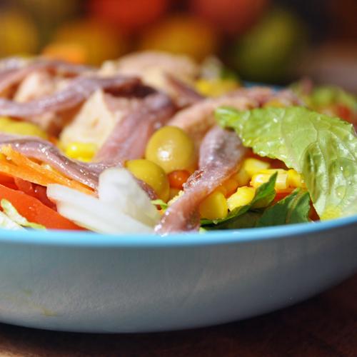 Ensalada Mixta (Typical Spanish Salad)