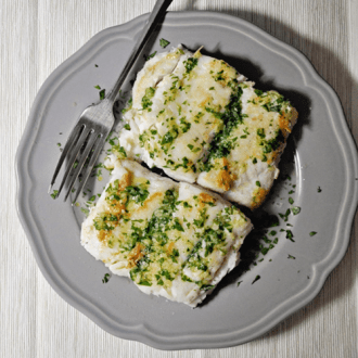 Pan Grilled Hake – Merluza a la Plancha