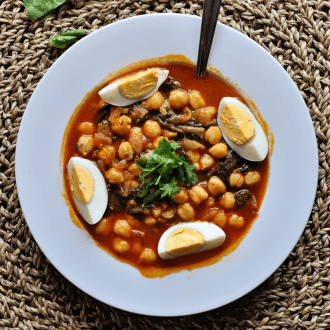 Spanish Chickpea Stew – Potaje de Garbanzos