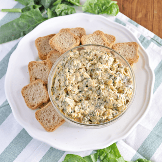 Healthy Spinach and Artichoke Dip Recipe