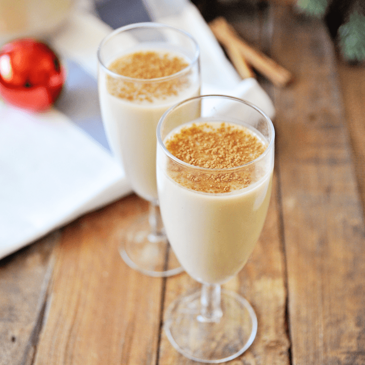 Homemade Eggnog Recipe With Spanish Brandy Spain On A Fork