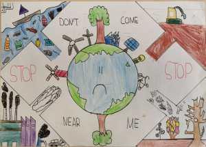Klimawandel, Artenschutz, Biodiversität – Malwettbewerb