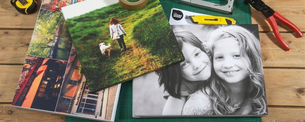 Nuotrauka ant drobes | Spalvota Reklama
