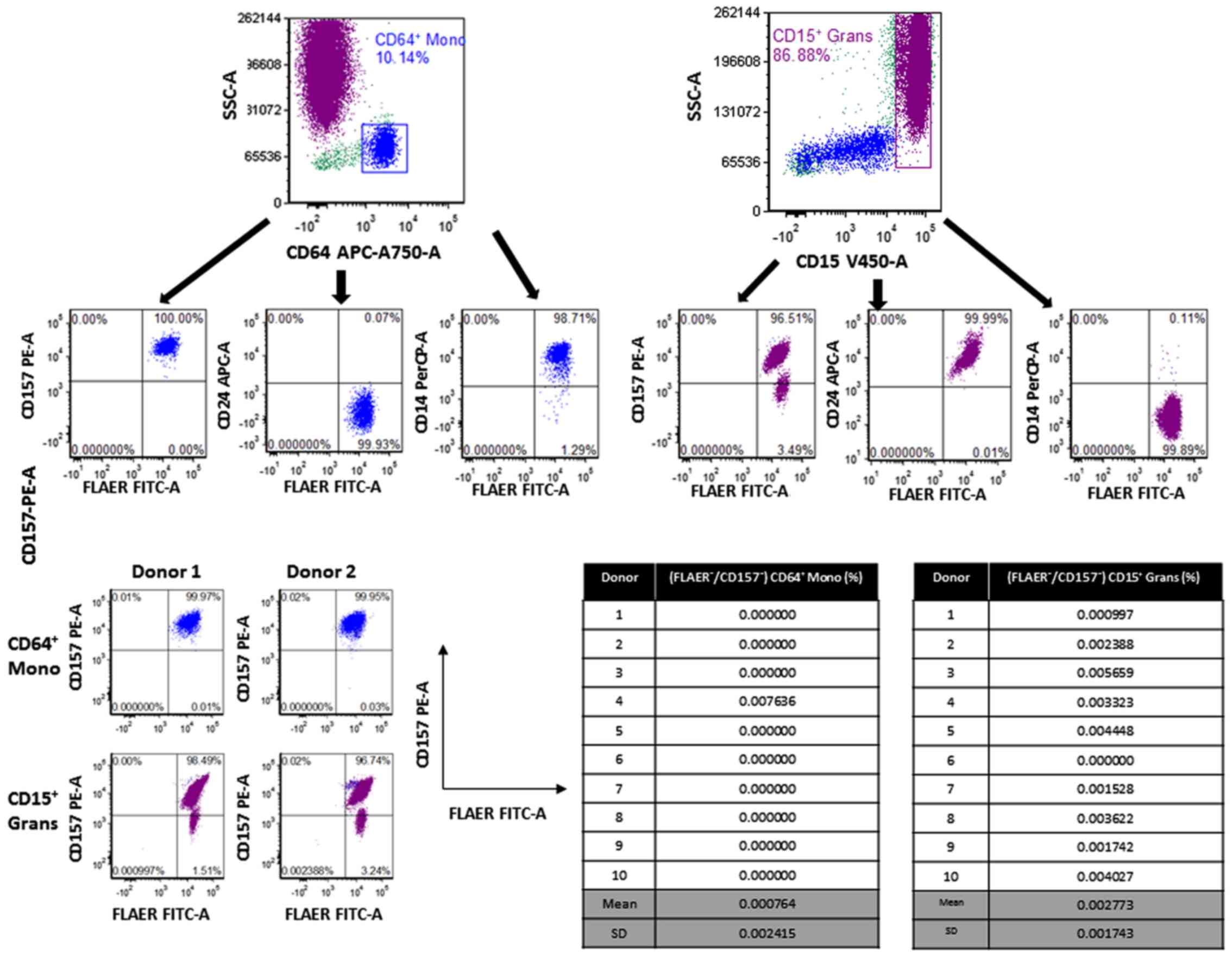High Sensitivity 8 Color Flow Cytometry Assay For