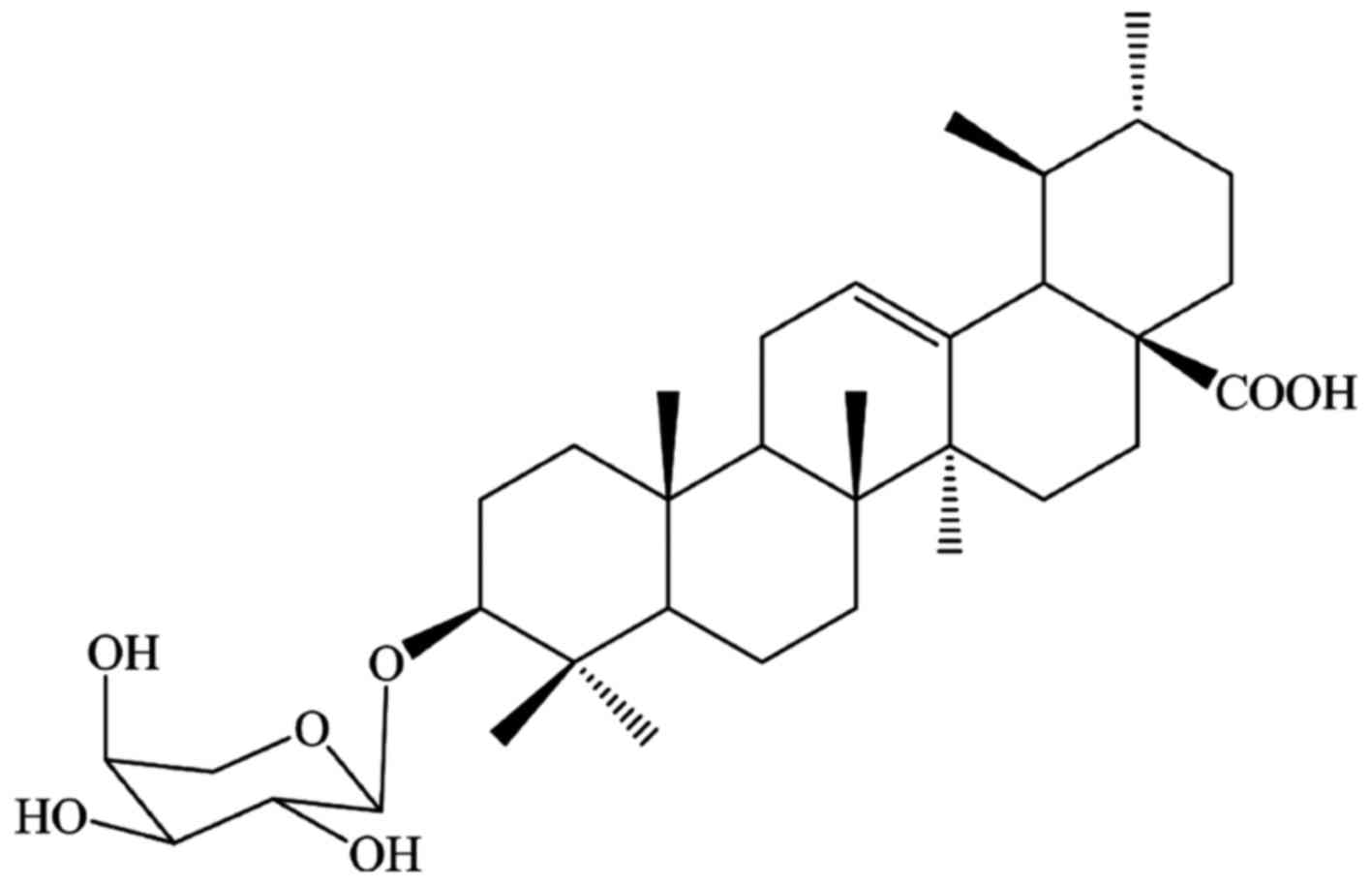 Antimicrobial Activity And Synergism Of Ursolic Acid 3 O L Arabinopyranoside With Oxacillin