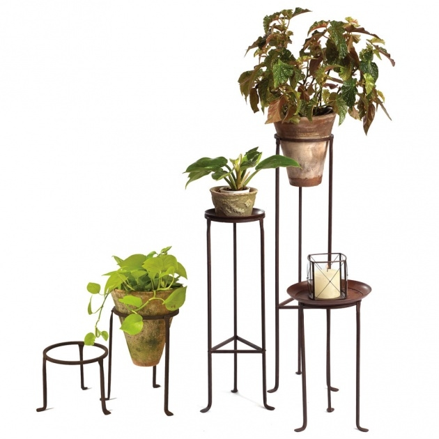 Iron Plant Stand | Garden Planters on Iron Stand Ideas  id=63486