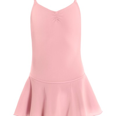 Leotard with Skirt-Ballet Pink