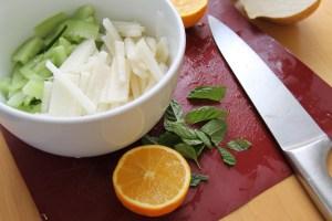 Cucumber & Jicama Citrus Salad