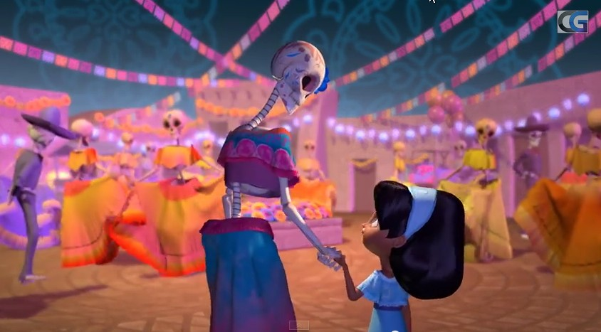 CG Bros Dia De Muertos animated short film