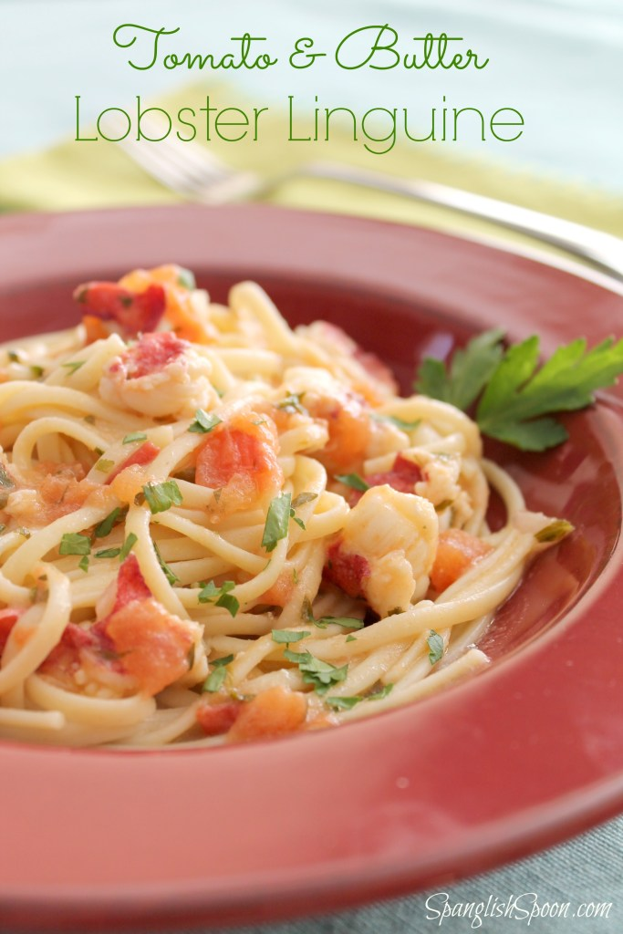 Tomato and Butter Lobster Linguine