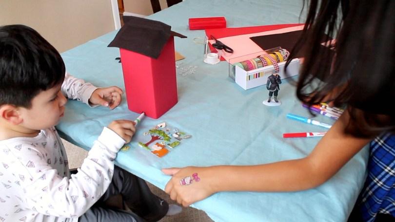 DIY Milk Carton Dollhouse slide 22