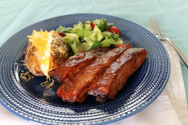 Smoked Ribs in Homemade Barbecue Sauce 2