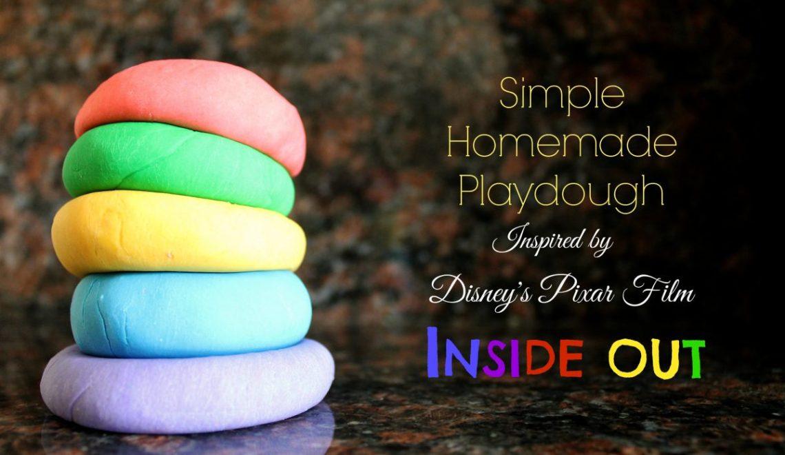 Simple Homemade Playdough Recipe
