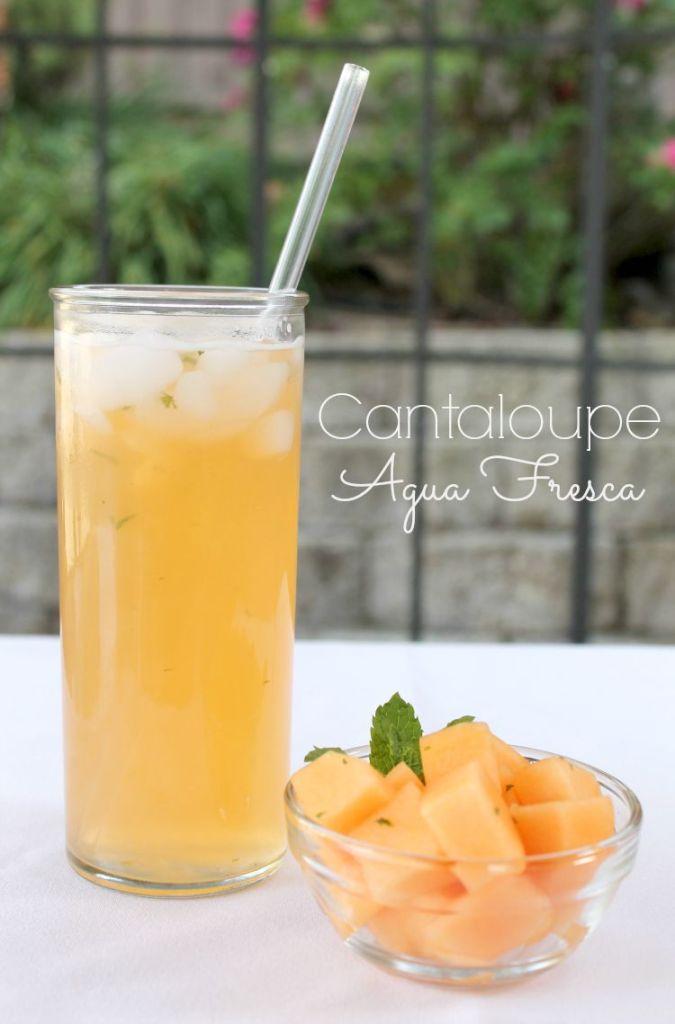 Cantaloupe agua fresca 1.2