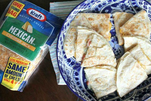 Quesadillas Two Ways