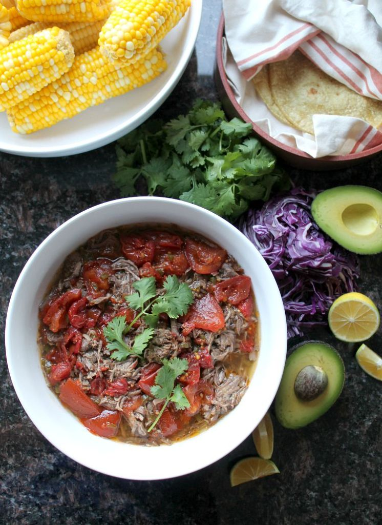 Slow cooked beef chuck tacos 9
