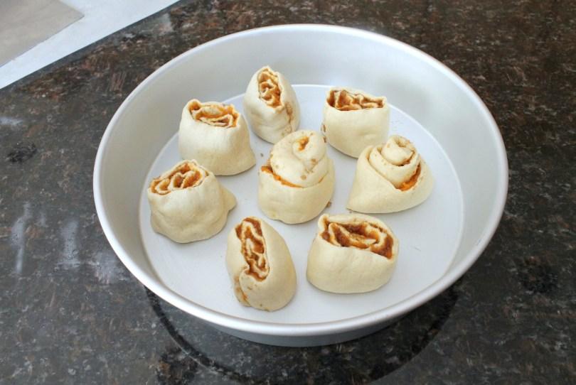 Pumpkin Cinnamon Rolls with Piloncillo 9