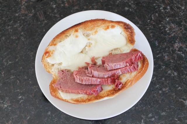 Corned Beef Bolillo Sandwiches