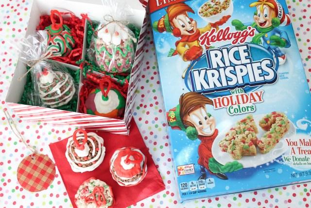 Kellogg's Rice Krispies Ornament Treats