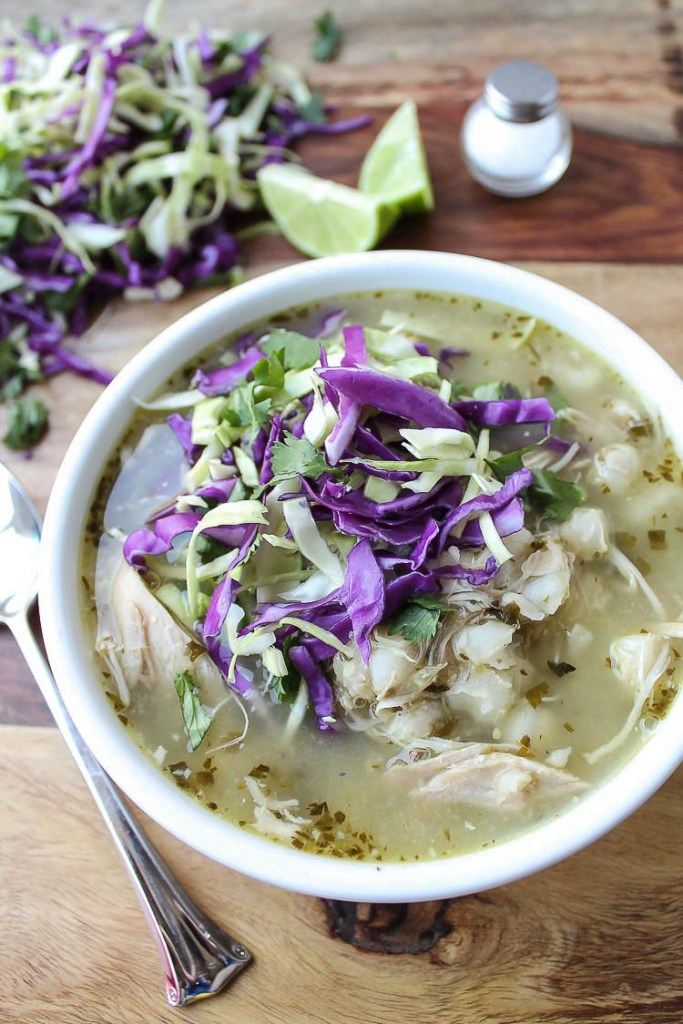 Pozole Verde with Chicken 2