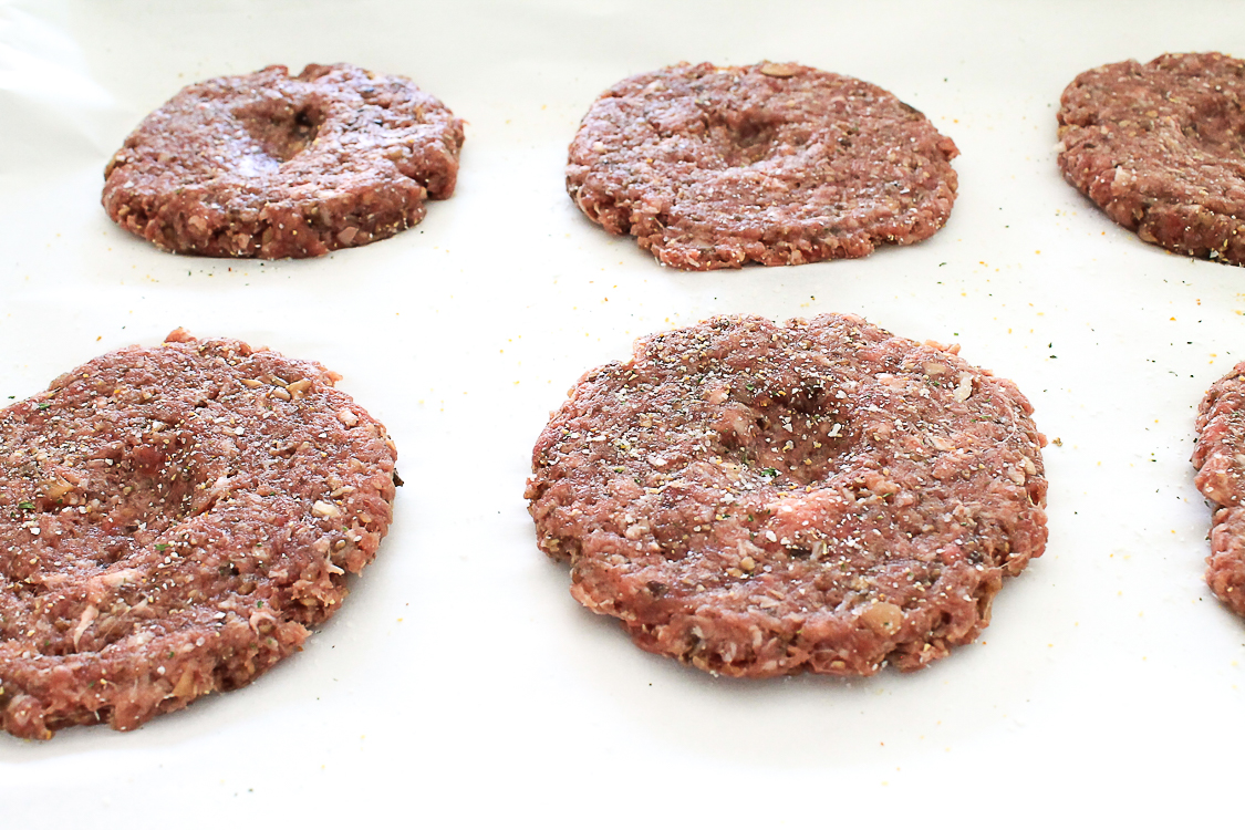 how to make meat patties for hamburgers